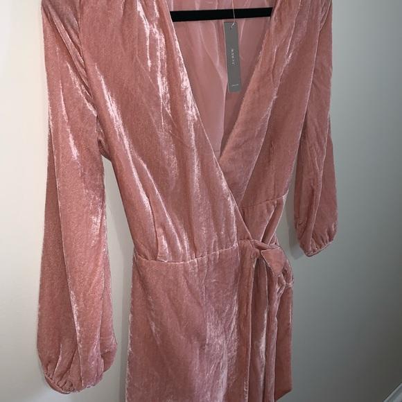 J.CREW Wrap Dress in Drapey Velvet NEW